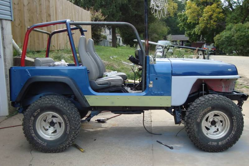Yj 6 Point Roll Cage Kit