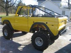Roll Cages , Roll Bars , Add On Kits, Tie Into Frame Kits, Bronco, Willys, Jeep CJ YJ - Early Bronco Roll Cage Kits 1966-1977