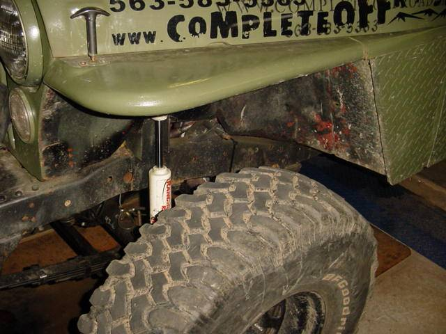 F on Cj7 Flat Fenders