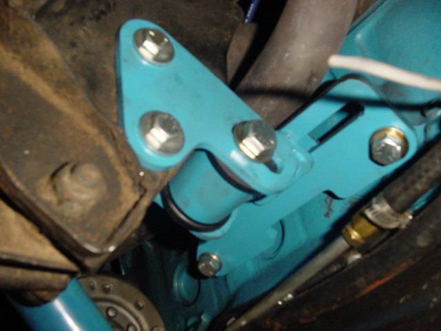 Adjustable Motor Mounts For Small Block Ford Mustang