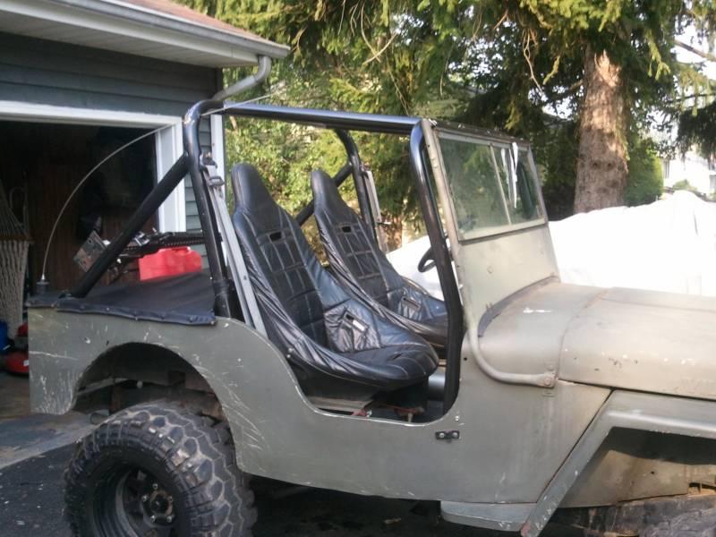 Custom Jeep Cj Roll Cage Car Interior Design