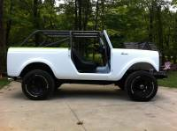 Extreme Custom Fabrication - I.H. International Scout 800 Family Cage FREE SHIPPING
