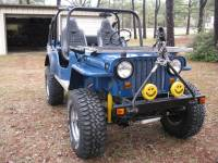 Extreme Custom Fabrication - CJ2 CJ2A Front Roll Cage Add-On  Willys Jeep FREE SHIPPING