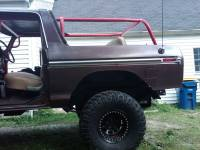 Extreme Custom Fabrication - Full Size Bronco 2 Point Rear Family Roll Cage Add On Kit 78-79, 80-96 FREE SHIPPING