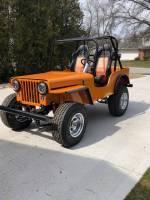 Extreme Custom Fabrication - CJ Willys Jeep Full Roll Cage Kit CJ2 CJ2A CJ3 FREE SHIPPING