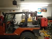 Extreme Custom Fabrication - CJ5 Rear Roll Cage Add-On CJ5 Willys Jeep FREE SHIPPING