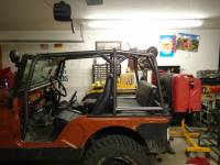 Extreme Custom Fabrication - CJ7 Rear Roll Cage Add-On  Jeep