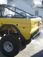 Extreme Custom Fabrication - Early Bronco 4 Point Roll Bar Kit -25 FREE SHIPPING
