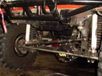 "Extreme Custom Fabrication - TIE ROD / DRAG LINK DANA 44 -1976-1977 Bronco 1 1/2"" D.O.M."