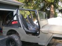 Extreme Custom Fabrication - CJ Willys Jeep Full Roll Cage Kit CJ2 CJ2A FREE SHIPPING
