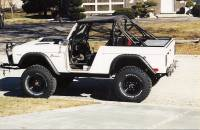 Extreme Custom Fabrication - FREE SHIPPING Smitty-Bilt Roadster Roll Cage Kit 66-77 Bronco 6 Point