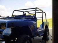 Extreme Custom Fabrication - YJ Wrangler 6 Point Roll Cage Kit - FREE SHIPPING